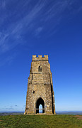 Tor Framed Prints - Glastonbury Tor Somerset Framed Print by Robert Preston