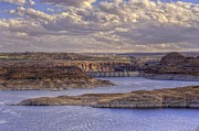 Glen Canyon Prints - Glen Canyon Sunset Print by Stephen Campbell
