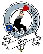 The Clan Art - Glen Clan Badge by Heraldry