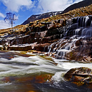 Glen Etive Prints - Glen Etive Print by Craig Brown