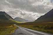 Jane Mcilroy Metal Prints - Glen Etive in the Scottish Highlands Metal Print by Jane McIlroy