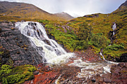 Gorgeous Prints - Glencoe Waterfall Print by Marcia Colelli