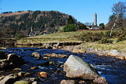 Joe Cashin Framed Prints - Glendalough Framed Print by Joe Cashin