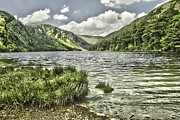 Martina Fagan Prints - Glendalough Upper Lake Print by Martina Fagan