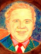 Liberal Painting Originals - Glenn Beck Controversy by Richard W Linford