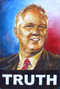 Politics Paintings - Glenn Beck - Truth by Samantha Geernaert