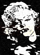 Georgeta Blanaru - Glitch Art Marylin Monroe