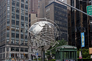 Central Park West Photos - Globe Sculpture by David Bearden