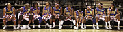 Globetrotters Framed Prints - Globetrotters Bench Framed Print by Alan  Reid
