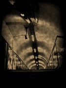 Tunnels Prints - Gloom Print by John Malone