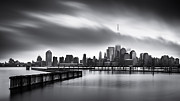 Foggy Day Originals - Gloomy Day for the Financial District by Mihai Andritoiu