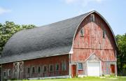Old Barns Photo Originals - Glorious Barn by Marilyn Hunt