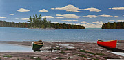 Canada Paintings - Glorious Day by Kenneth M  Kirsch
