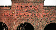 Railroad Stations Prints - Glory Days Print by JC Findley