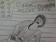 Bruce Drawings Originals - Glory Days by Kyle Retsky