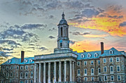 Penn State Framed Prints - Glory of Old State Framed Print by Michael Misciagno
