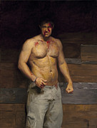 Boxer Paintings - Glory by William  Zwick