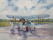 Murray Mcleod Painting Metal Prints - Gloster Gamecock Metal Print by Murray McLeod