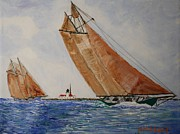 Bill Hubbard - Gloucester Schooners Racing