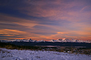 Sawatch Range Framed Prints - Glow of Morning Framed Print by Jeremy Rhoades