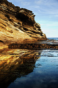 Charmian Vistaunet - Glow on Oceanside Cliff