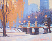 Dianne Panarelli Miller - Glow on the Bridge