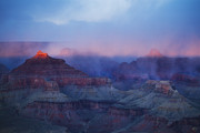 Hopi Prints - Glow Tops Print by Peter Coskun