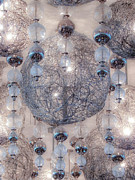 Chandeliers Prints - Glowing Bright Print by Julie Palencia