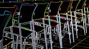 Adrianne Wilkinson - Glowing Chairs