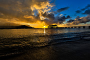 Sam Amato - Glowing Hanalei Bay Pier