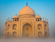 Inge Johnsson - Glowing Taj Mahal