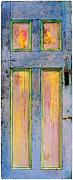 Glowing Through Door Print by Asha Carolyn Young