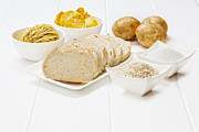 Bread Posters - Glycemic Index High GI Foods Poster by Colin and Linda McKie