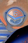 Gmc Photos - GMC 4000 V6 Pickup Truck Emblem by Jill Reger