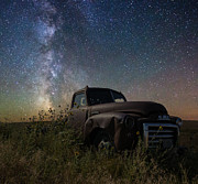 Milkyway Framed Prints - Gmc Framed Print by Aaron J Groen