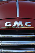 Gmc Framed Prints - GMC truck logo Framed Print by Sean Stauffer
