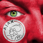 Afc Prints - Go AFC Ajax Print by Semmick Photo