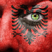 Coat Of Arms Posters - Go Albania Poster by Semmick Photo