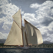 Sailing Prints - Go Big Print by OMalley Keyes