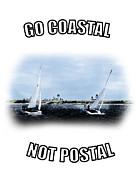 Barry Jones - Sailboats- Coast - Go Coastal - Not Postal