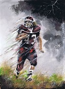 Football Paintings - Go Cody by Jerry Bates
