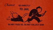 Cop Digital Art - Go Directly To Jail by Rob Hans
