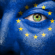 European Union Prints - Go Europe Print by Semmick Photo