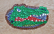 Shock Mixed Media - Go Gators  by Kay Galloway