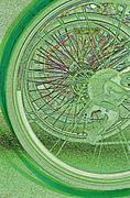 Tire Mixed Media Originals - Go Green 1 by jrr by First Star Art 