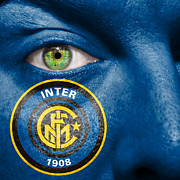 Inter Milan Posters - Go Inter Milan Poster by Semmick Photo