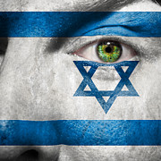 Make-up Posters - Go Israel Poster by Semmick Photo