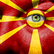 Make-up Posters - Go Macedonia Poster by Semmick Photo