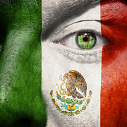 Coat Of Arms Posters - Go Mexico Poster by Semmick Photo