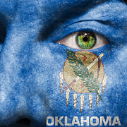 Oklahoman Framed Prints - Go Oklahoma Framed Print by Semmick Photo